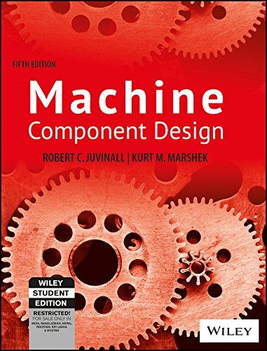 9788126537976: Fundamentals of Machine Component Design