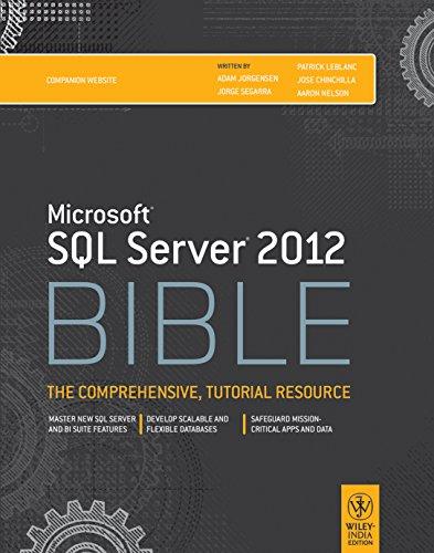 9788126538010: Microsoft Sql Server 2012 Bible