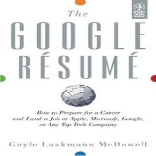 9788126538058: The Google Resume