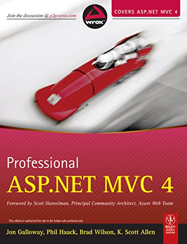 9788126538300: Professional ASP.NET MVC 4