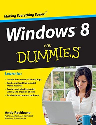 9788126538331: Windows 8 for Dummies Portable Edition