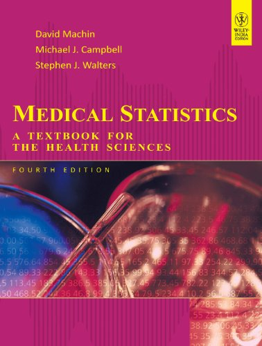 9788126538386: Medical Statistics: A Textbook for the Health Sciences
