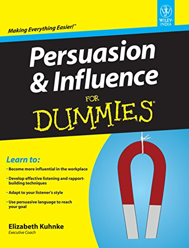 9788126538706: Persuasion & Influence For Dummies