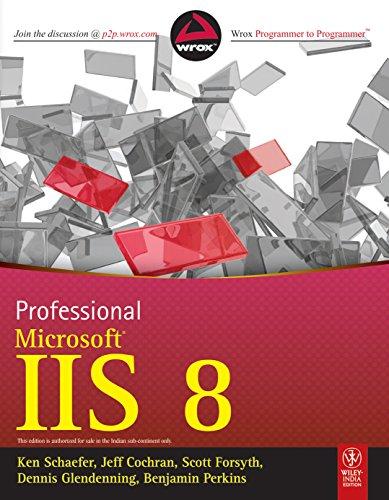 9788126539154: Professional Microsoft Iis 8