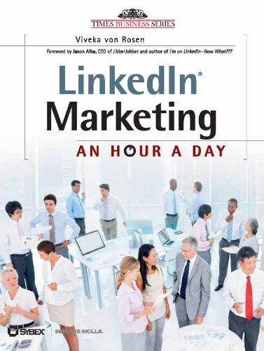 9788126539321: LinkedIn Marketing: An Hour a Day [Paperback]