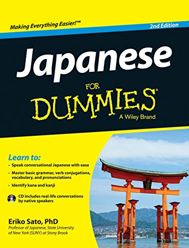 Japanese for Dummies (Second Edition): Eriko Sato