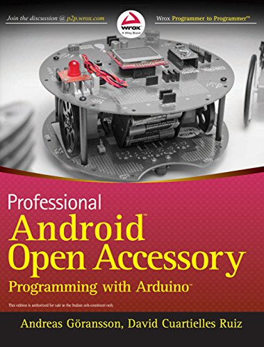 9788126540860: Professional Android Open Accessory Programming With Arduino