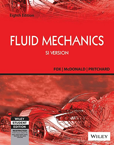 9788126541287: FLUID MECHANICS: SI VERSION 8TH EDITION
