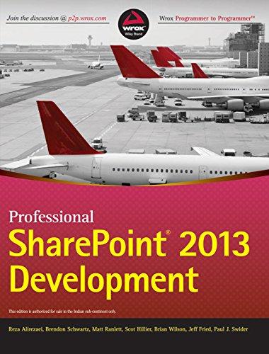 9788126541676: Professional Sharepoint 2013 Development