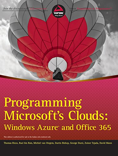 9788126541683: Programming Microsoft's Clouds: Windows Azure and Office 365 (Wrox)