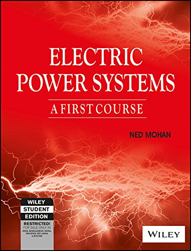 9788126541959: Electric Power Systems: A First Course (Wse)
