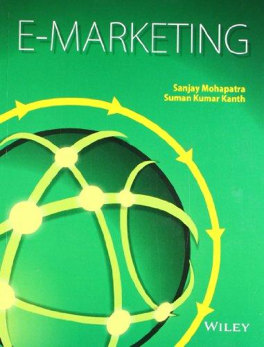 E-Marketing: Sanjay Mohapatra,Suman Kumar Kanth