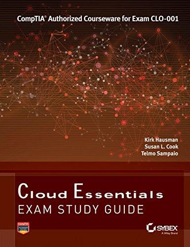 9788126542888: Cloud Essentials: Comptia Authorized Courseware for Exam CLO-001