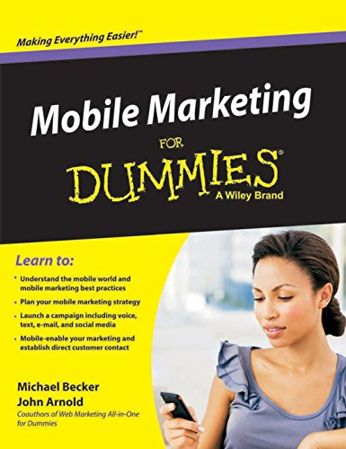 9788126543014: Mobile Marketing for Dummies