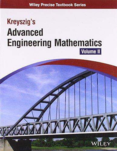 9788126543137: Kreyszig's Advanced Engineering Mathematics - Vol. 2