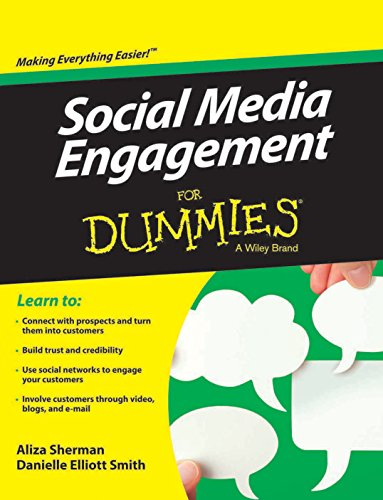 9788126543304: Social Media Engagement for Dummies
