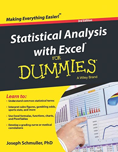 9788126543441: Statistical Analysis With Excel For Dummies, 3Ed