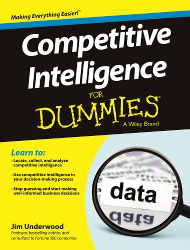 9788126543977: COMPETITIVE INTELLIGENCE FOR DUMMIES