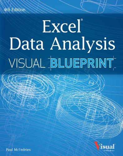 9788126544004: Excel Data Analysis: Your Visual Blueprint for Analyzing Data, Charts and Pivot-tables