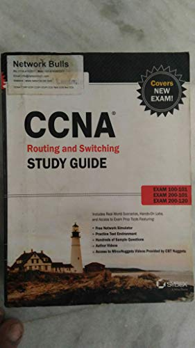 9788126544684: CCNA ROUTING AND SWITCHING STUDY GUIDE