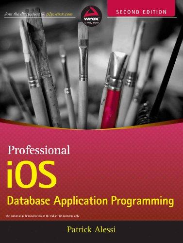 9788126544714: Professional iOS Database Application Programming