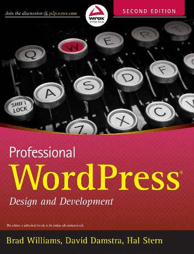 9788126544721: ({PROFESSIONAL WORDPRESS: DESIGN AND DEVELOPMENT}) [{ By (author) Brad Williams, By (author) David Damstra, By (author) Hal Stern }] on [January, 2013]