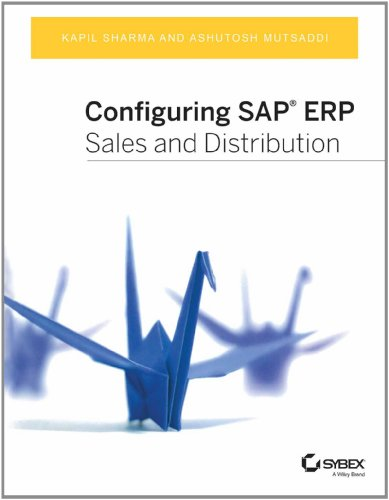 9788126544882: Configuring Sap ERP Sales and Distribution (Sybex)