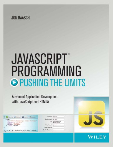 9788126544899: Javascript Programming: Pushing the Limits (Misl-Wiley)