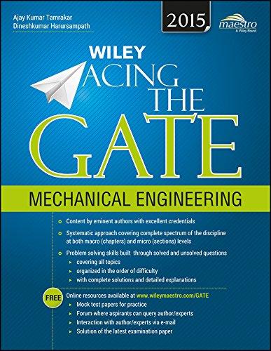 Wiley Acing the GATE Mechanical Engineering: Ajay Kumar Tamrakar and Dineshkumar Harursampath