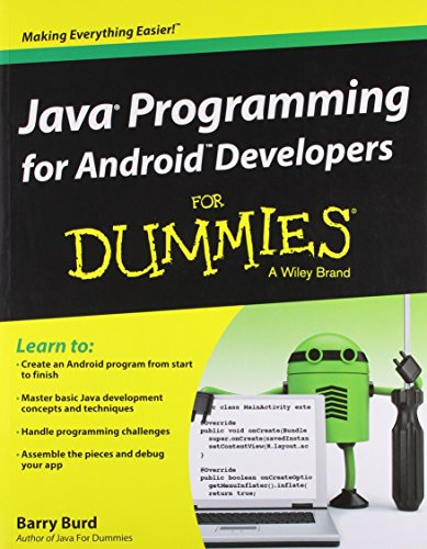 9788126545964: Java Programming for Android Developers for Dummies