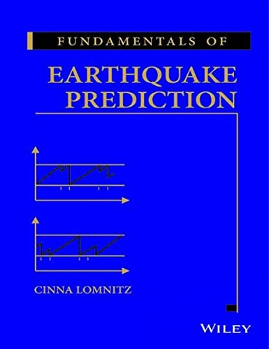 Fundamentals Of Earthquake Prediction: Lomnitz Cinna