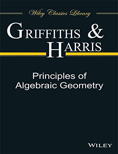 9788126546510: PRINCIPLES OF ALGEBRAIC GEOMETRY