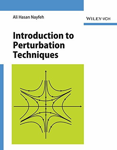 9788126546824: Introduction to Perturbation Techniques