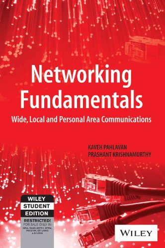 9788126547388: Networking Fundamentals: Wide, Local and Personal Area Communications