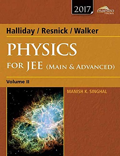 9788126547449: Halliday, Resnick, Walker Physics for Jee (Main & Advanced) - Vol. 2