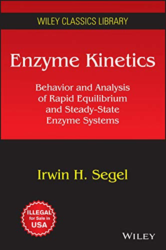 9788126548156: Enzyme Kinetics: Behavior And Analysis Of Rapid Equilibrium And Steady-State Enzyme Systems
