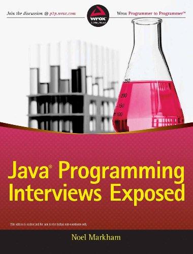 9788126548569: Java Programming Interviews Exposed