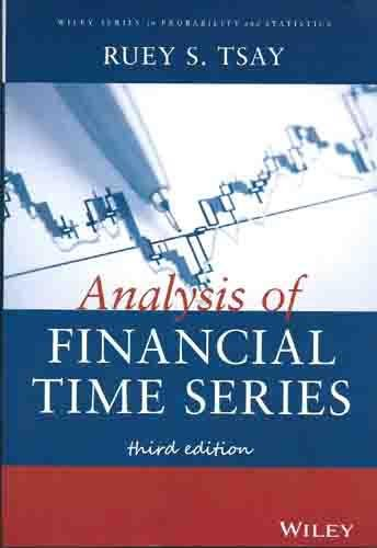 9788126548934: Analysis of Financial Time Series, 3rd ed.