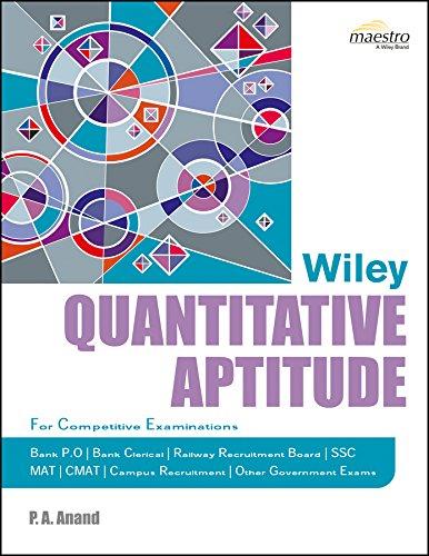 Quantitative Aptitude: P.A. Anand