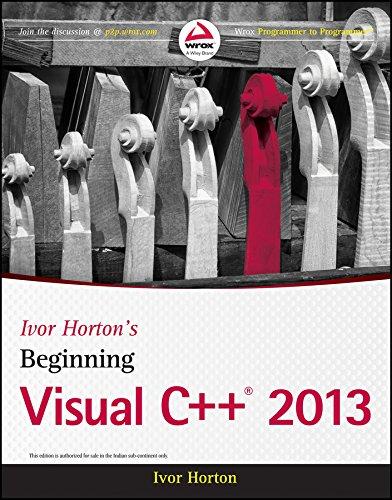 9788126550371: Ivor Horton's Beginning Visual C++ 2013