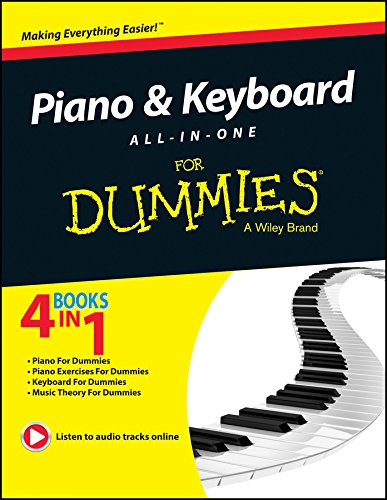 9788126550425: Wiley Piano And Keyboard All In One For Dummies