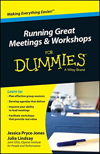 Running Great Meeting and Workshops for Dummies: Jessica Pryce-Jones
