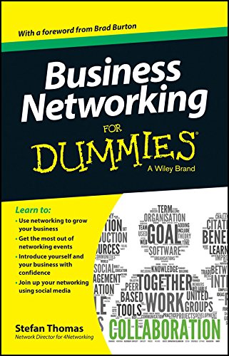 Business Networking for Dummies: Stefan Thomas