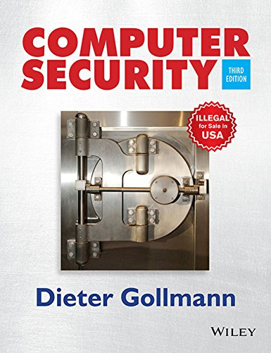 9788126550821: Computer Security (Edn 3) By Dieter Gollmann