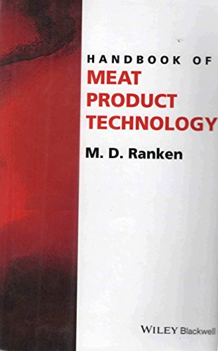 9788126551453: Handbook Of Meat Product Technology