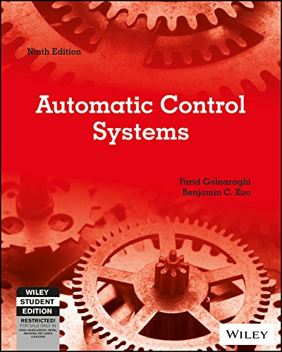 9788126552337: Automatic Control Systems