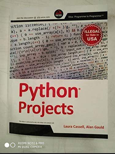 9788126554157: Python Projects