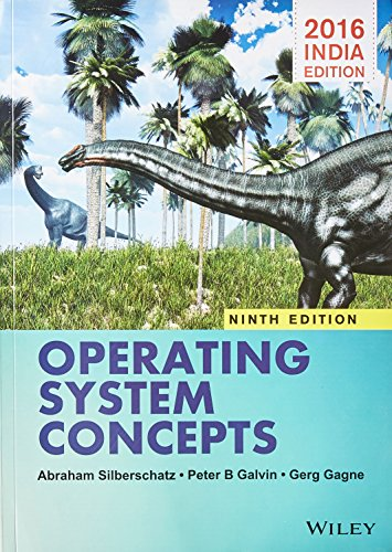 9788126554270: Operating System Concepts, 9th ed.