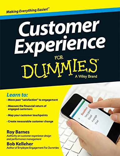 9788126554355: Customer Experience for Dummies