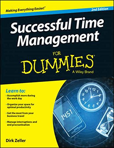 9788126554423: Successful Time Management for Dummies, 2ed